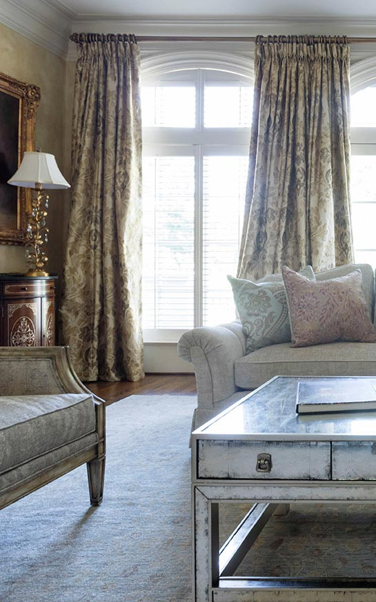 Custom Window Treatments and Bedding in Montgomery