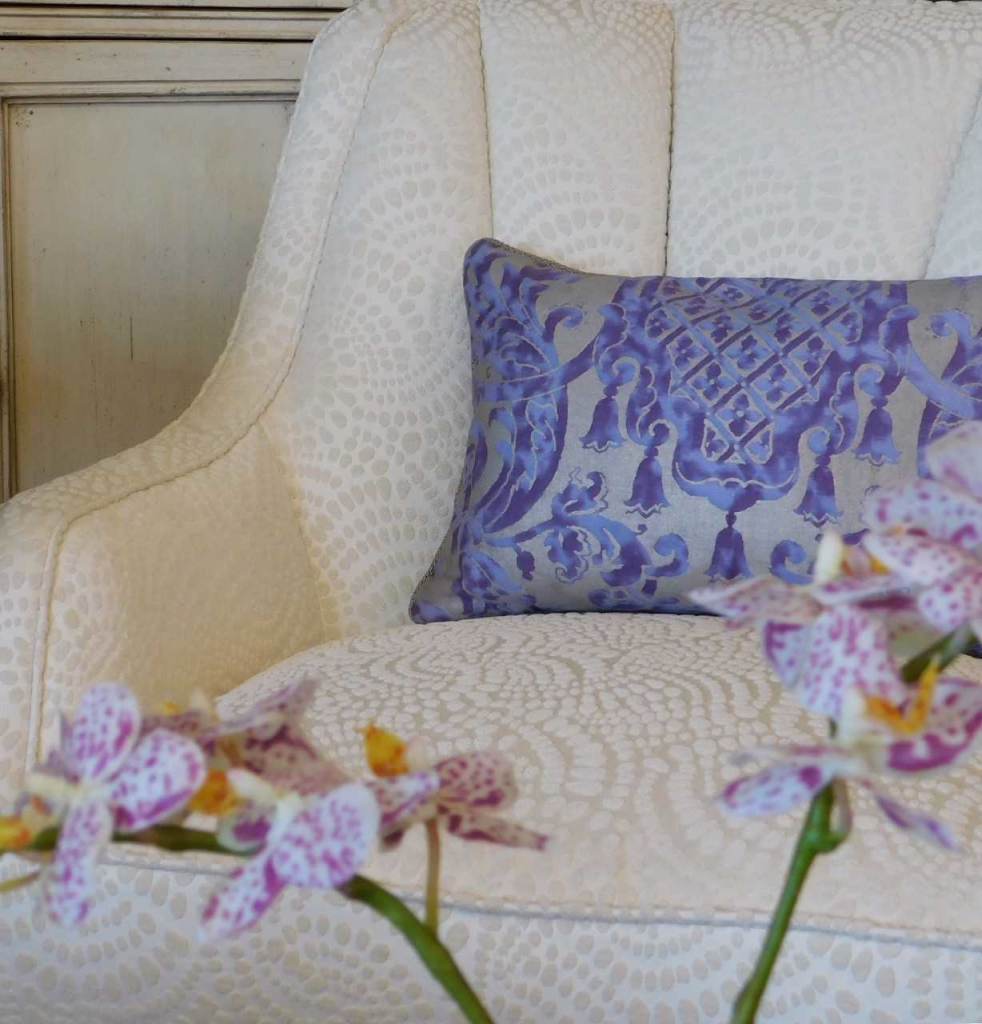 Ultra Modern Pillows : Get Creative with Pantone Color Ultra Violet - Mathison Interiors