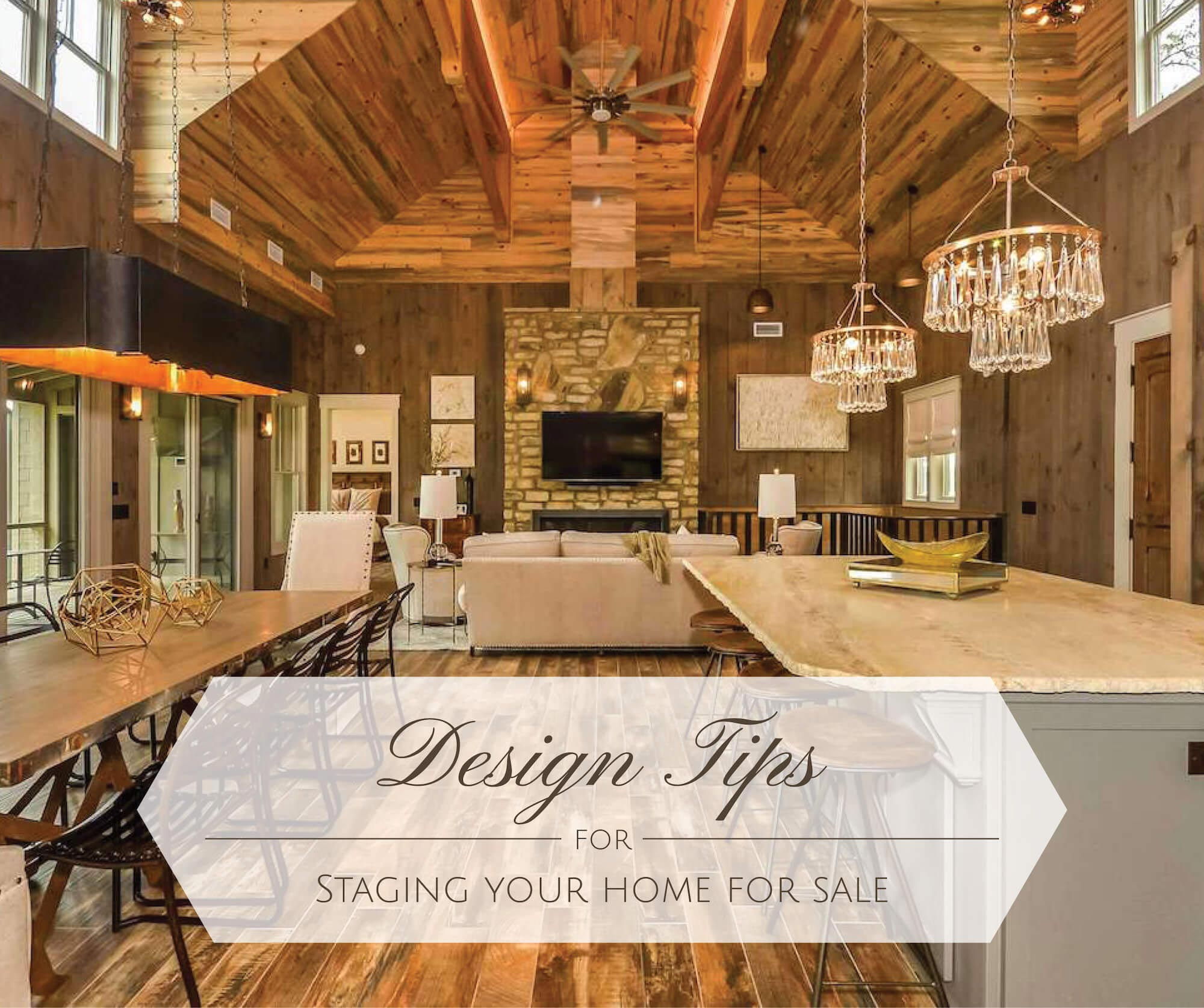 Design Tips for staging your home for sale
